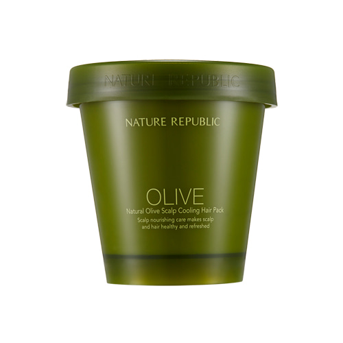 Nature Republic Natural Olive Scalp Cooling Hair Pack 200ml