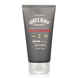 Etude House Gentle Black One Shop Cleansing Foam 150ml