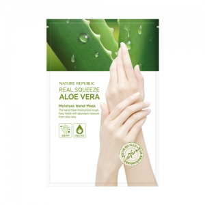 Nature Republic Real Squeeze Aloe Vera Moisture Hand Mask (14ml)