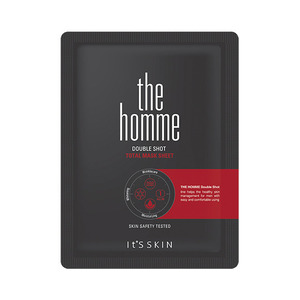 It's skin The Homme Double Shot Total Mask Sheet 14ml * 3ea