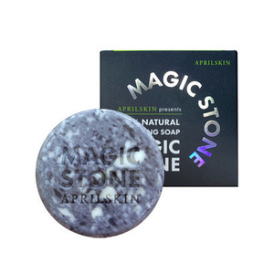 April Skin Magic Stone Cleansing Soap Original 100g