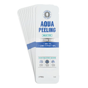 A'PIEU Aqua Peeling Cotton Swab Set Mild 3ml *10ea