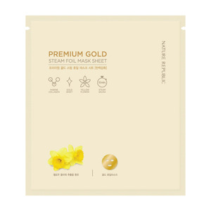 Nature Republic Premium Gold Steam Foil Mask Sheet 30g