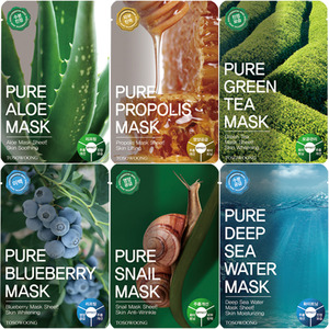 TOSOWOONG Pure Mask Pack 10ea (in a box)