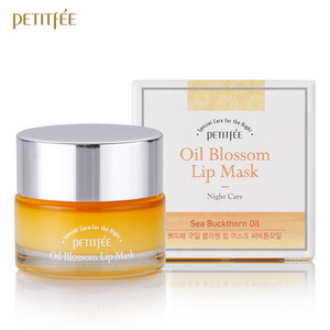 Petitfee Oil Blossom Lip Mask Sea Buckthorn Oil 15g