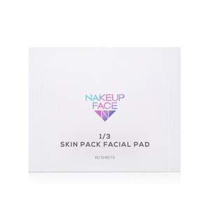 NAKEUP FACE 1/3 Skin Pack Facial Pad 60sheets