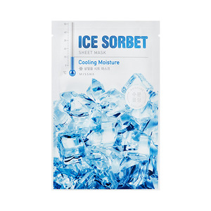 Missha Ice Sorbet Sheet Mask Cooling Moisture