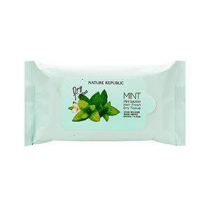 Nature Republic Mint Solution Hair Fresh Dry Tissue
