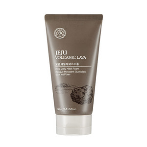 THE FACE SHOP Jeju Volcanic Lava Pore Daily Mask Foam 150ml