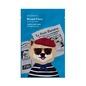 Missha Beyond Closet Edition Real Solution Tencel Sheet Mask Wrinkle Caring 25g