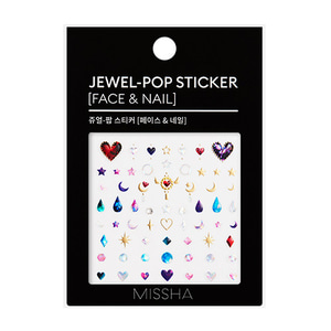 MISSHA Jewel-Pop Sticker Face & Nail 1ea