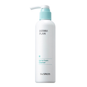 the SAEM Derma Plan Gel to Form Cleanser 180ml
