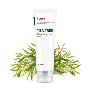 A'PIEU Nanco Tea Tree Cleansing Foam 130ml