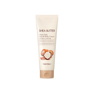 TONYMOLY Shea Butter Chok Chok Face & Body Cream 250ml