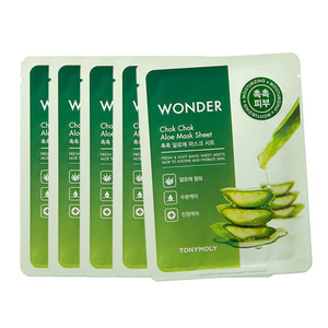 TONYMOLY Wonder Chok Chok Aloe Mask Sheet 20g 5ea