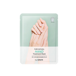 the SAEM PURE NATURAL Hand Treatment Mask 16g