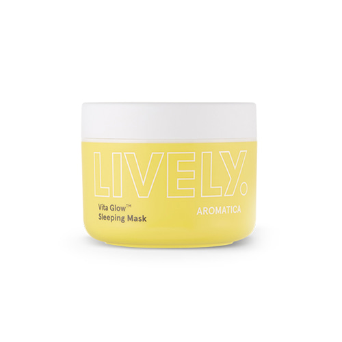 [TIME DEAL] Aromatica LIVELY Vita Glow Sleeping Mask​ 100g