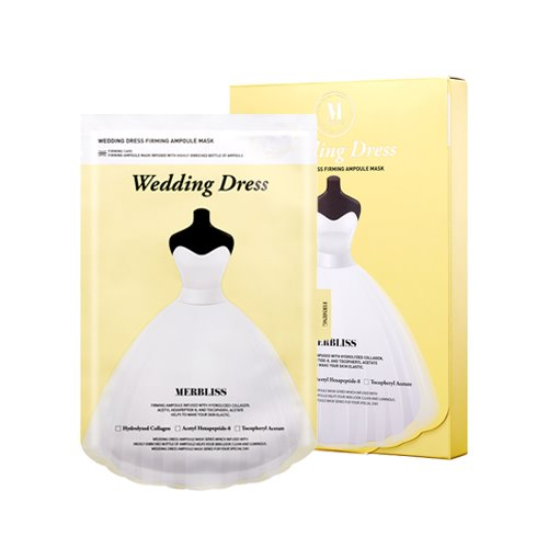MERBLISS Wedding Dress Firming Ampoule Mask 5ea