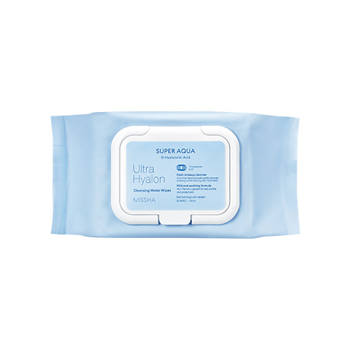 MISSHA Super Aqua Ultra Hyalron Cleansing Water Tissue 30ea