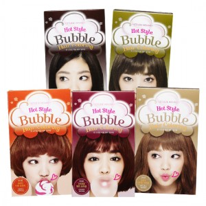 Etude House NEW Hot Style Bubble Hair Coloring