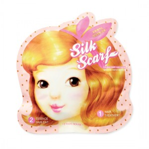 Etude House Silk Scarf Double Care Hair Mask (1-step 5ml+2-step 15ml)